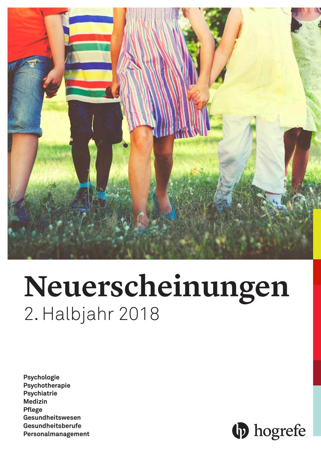 Hogrefe Neuerscheinungen 2. Halbjahr 2018 by Hogrefe - issuu