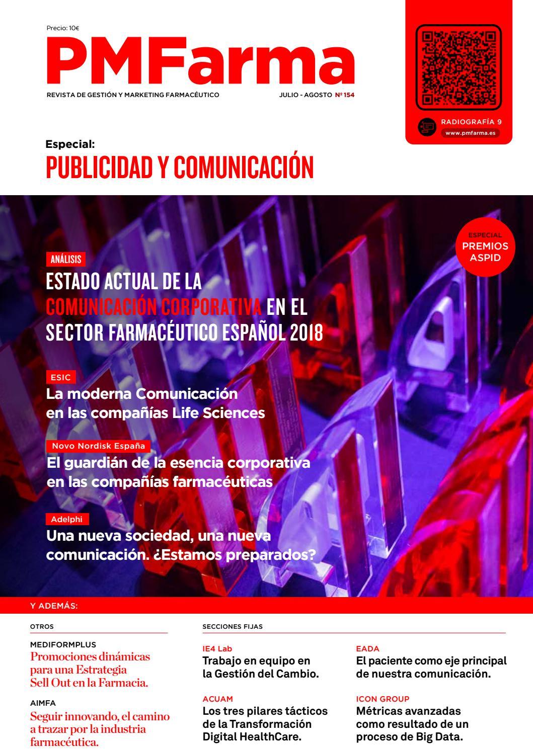 PMFarma Nº 154. Jul - Ago 2018 by PMFarma - issuu 7950b7e360469