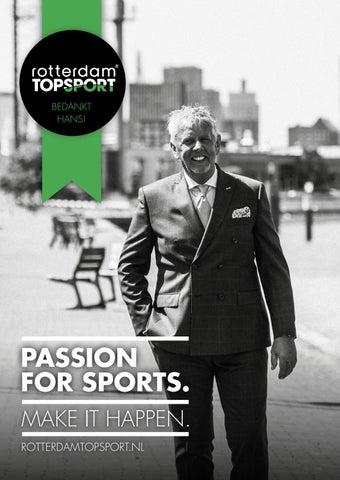 81d54a4a49d Rotterdam Topsport Magazine - Bedankt Hans Zoethoutmaar by Trichis ...