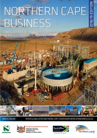 Northern Cape Business 2018 19 edition by Global Africa Network - issuu 74a06a831043b