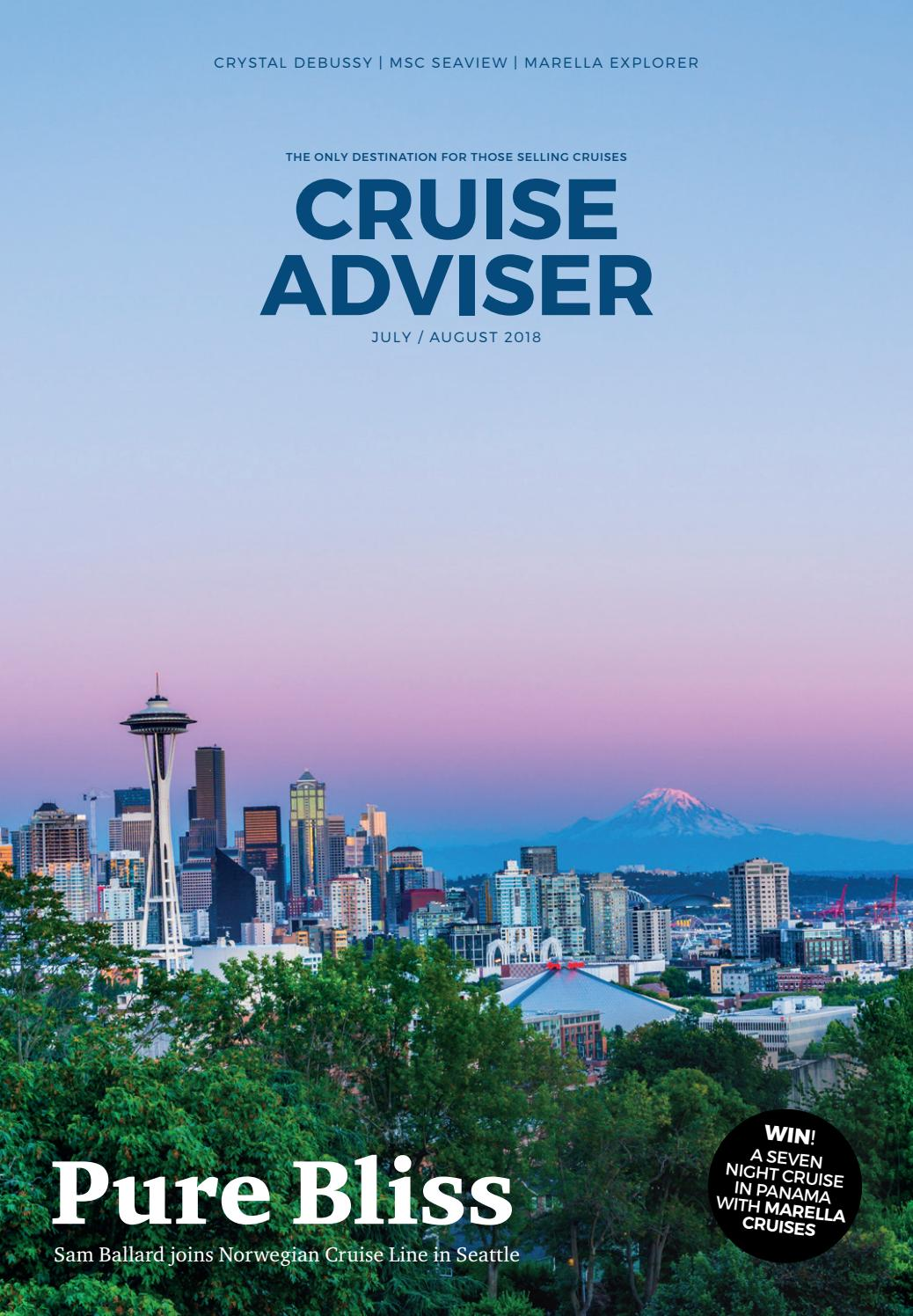 Cruise Adviser – July / August by Waterfront Publishing - issuu