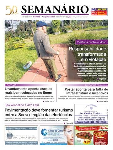 08c716ac42307 Jornal Semanário – 07 de julho de 2018 – ano 51 – nº 3452 by Jornal ...