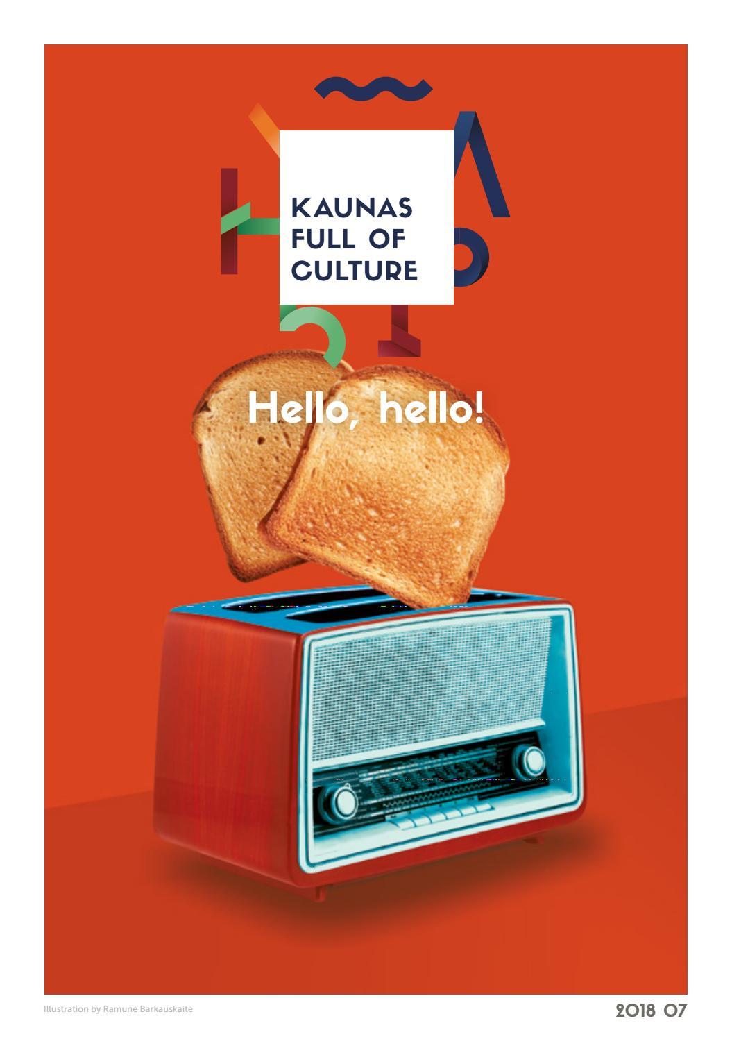 KAUNAS FULL OF CULTURE  JULY 2018 by Kaunas Pilnas Kultūros