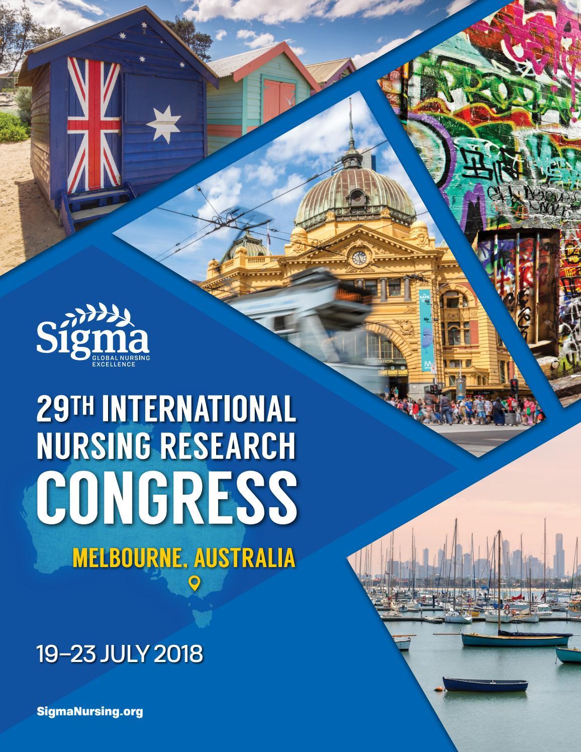 e85b9e77dde0 29th International Nursing Research Congress by Sigma Theta Tau  International Honor Society of Nursing - issuu
