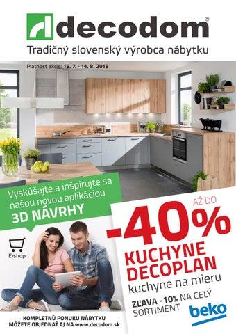 0b1c6f65b9e1 Tradičný slovenský výrobca nábytku Platnosť akcie  15. 7. - 14. 8. 2018