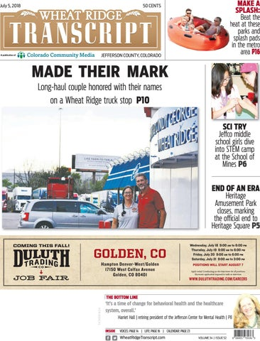 Wheat Ridge Transcript 0705