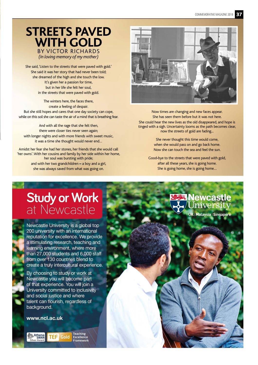 Windrush Commemorative magazine 2018 by Sugar Media and Marketing