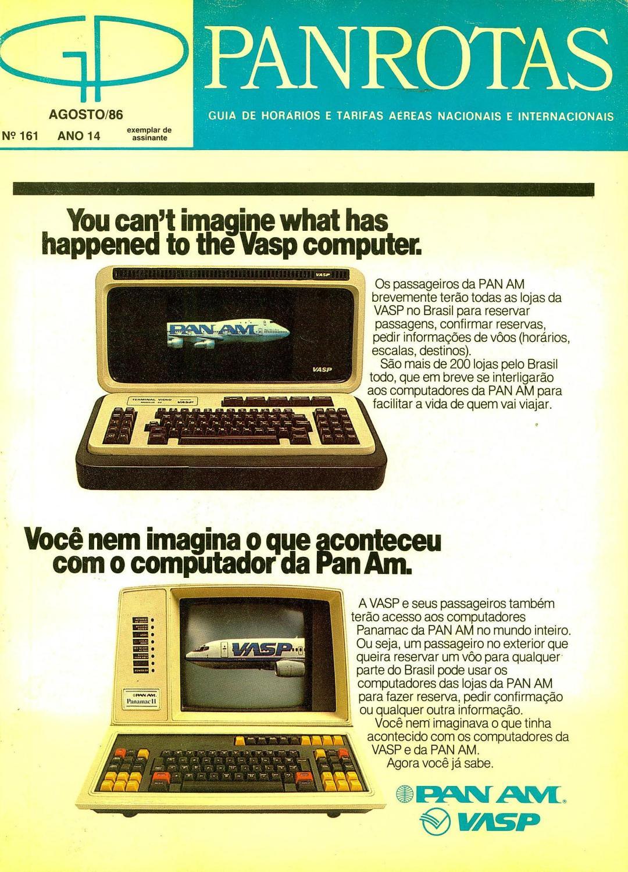 6edd2cf712e Guia PANROTAS - Edição 161 - Agosto 1986 by PANROTAS Editora - issuu