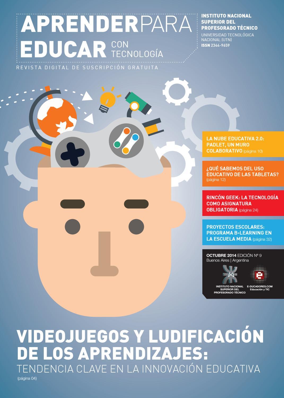 """Revista """"Aprender para Educar con Tecnología"""" - Número 9"""
