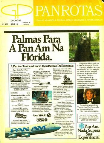 823e8de6fec Guia PANROTAS - Edição 160 - Julho 1986 by PANROTAS Editora - issuu