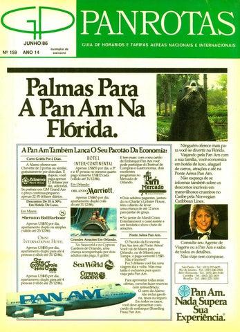 e75a2c78407b2 Guia PANROTAS - Edição 159 - Junho 1986 by PANROTAS Editora - issuu