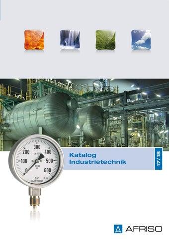 AFRISO Katalog Industrietechnik 17/18 by AFRISO-EURO-INDEX GmbH - issuu