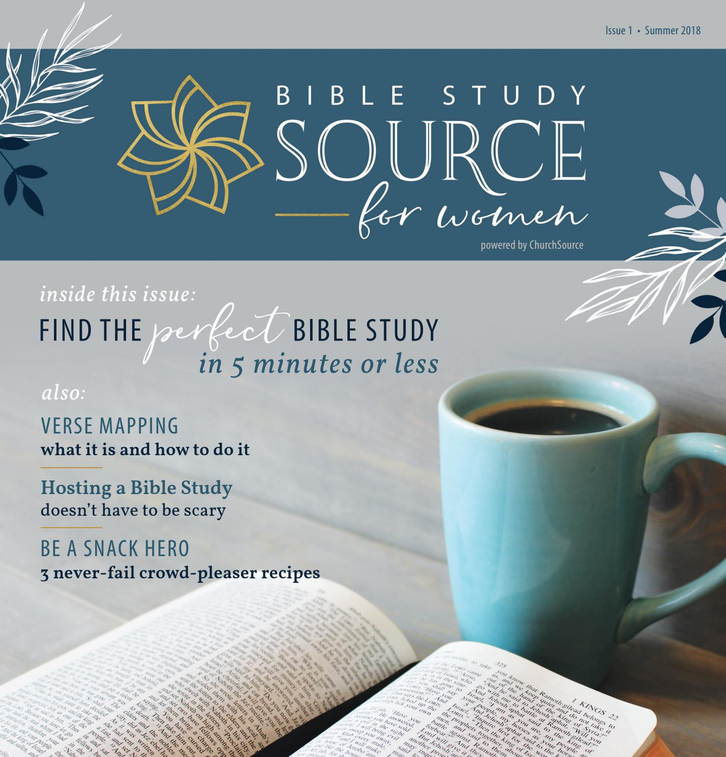 Bible Study Source for Women Magazine - Issue 1 by