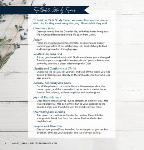 Page 4 of Bible Study Finder