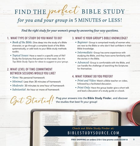 Page 5 of Bible Study Finder