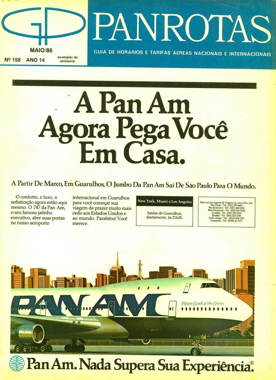 7b65ebc3b Guia PANROTAS - Edição 158 - Maio/1986 by PANROTAS Editora - issuu