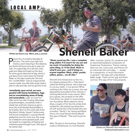 Page 14 of Local Amp: Shenell Baker