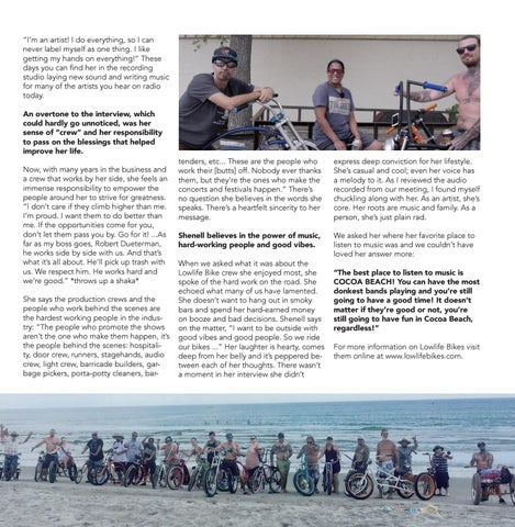Page 15 of Local Amp: Shenell Baker