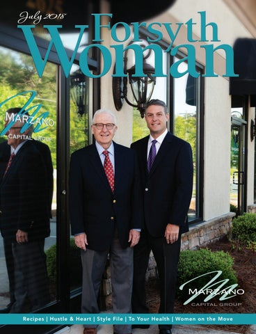 Forsyth Woman July 2018 By Forsyth Mags Issuu