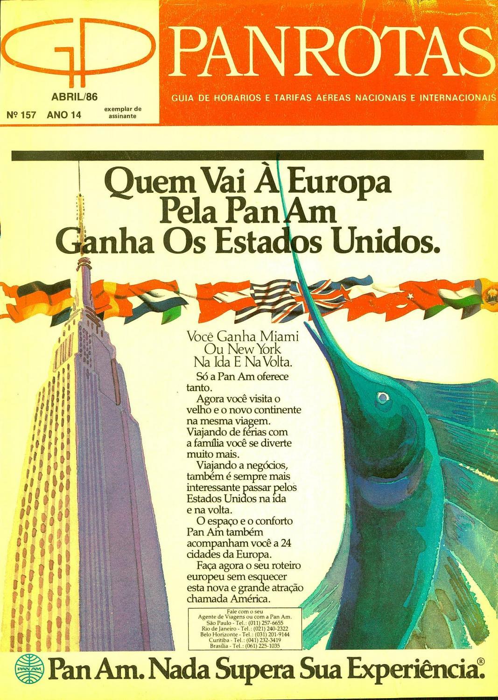 484c2958c7 Guia PANROTAS - Edição 157 - Abril 1986 by PANROTAS Editora - issuu