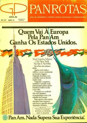 9b8196a921 Guia PANROTAS - Edição 157 - Abril 1986 by PANROTAS Editora - issuu
