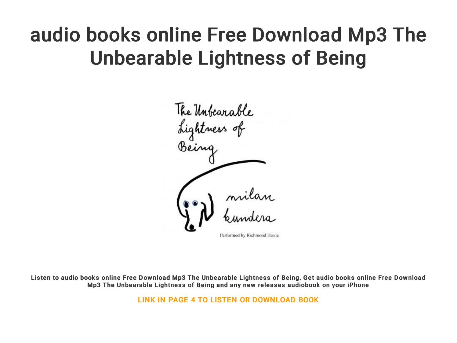 audio books online free download mp3