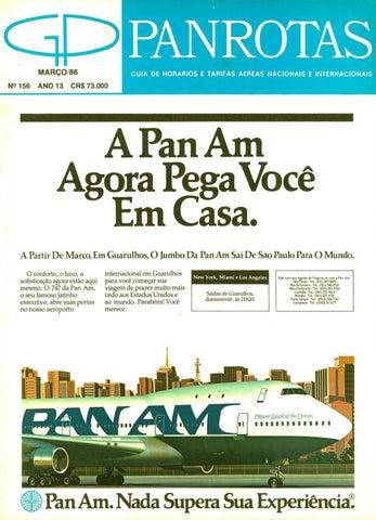 4ad66aea1ce43 Guia PANROTAS - Edição 156 - Março 1986 by PANROTAS Editora - issuu