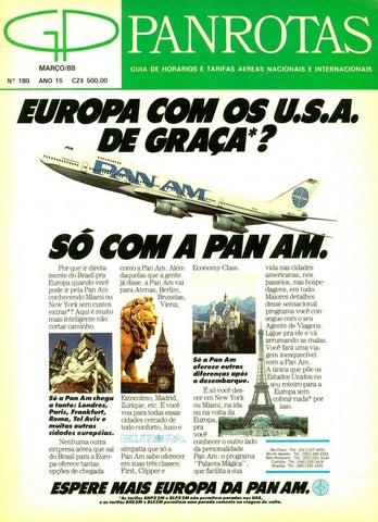 Guia PANROTAS - Edição 180 - Março 1988 by PANROTAS Editora - issuu 859b70cec0f9a