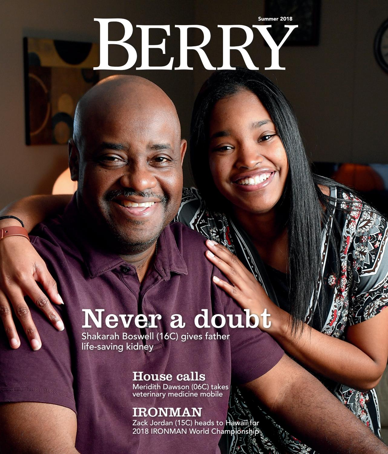 c71525c29b1a56 Berry Magazine - Summer 2018 by Berry College - issuu