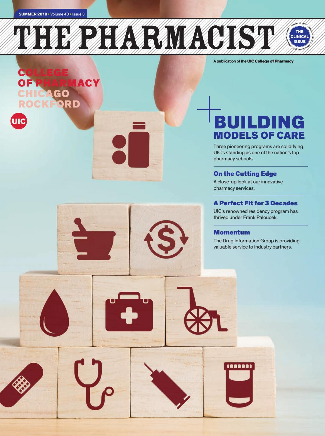 The Pharmacist - The Clinical Issue/ Summer 2018 by UIC