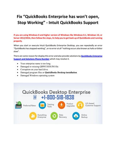 what version of quickbooks works with windows 10