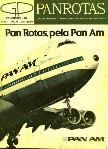 50b41916d299c Guia PANROTAS - Edição 107 - Fevereiro 1982 by PANROTAS Editora - issuu