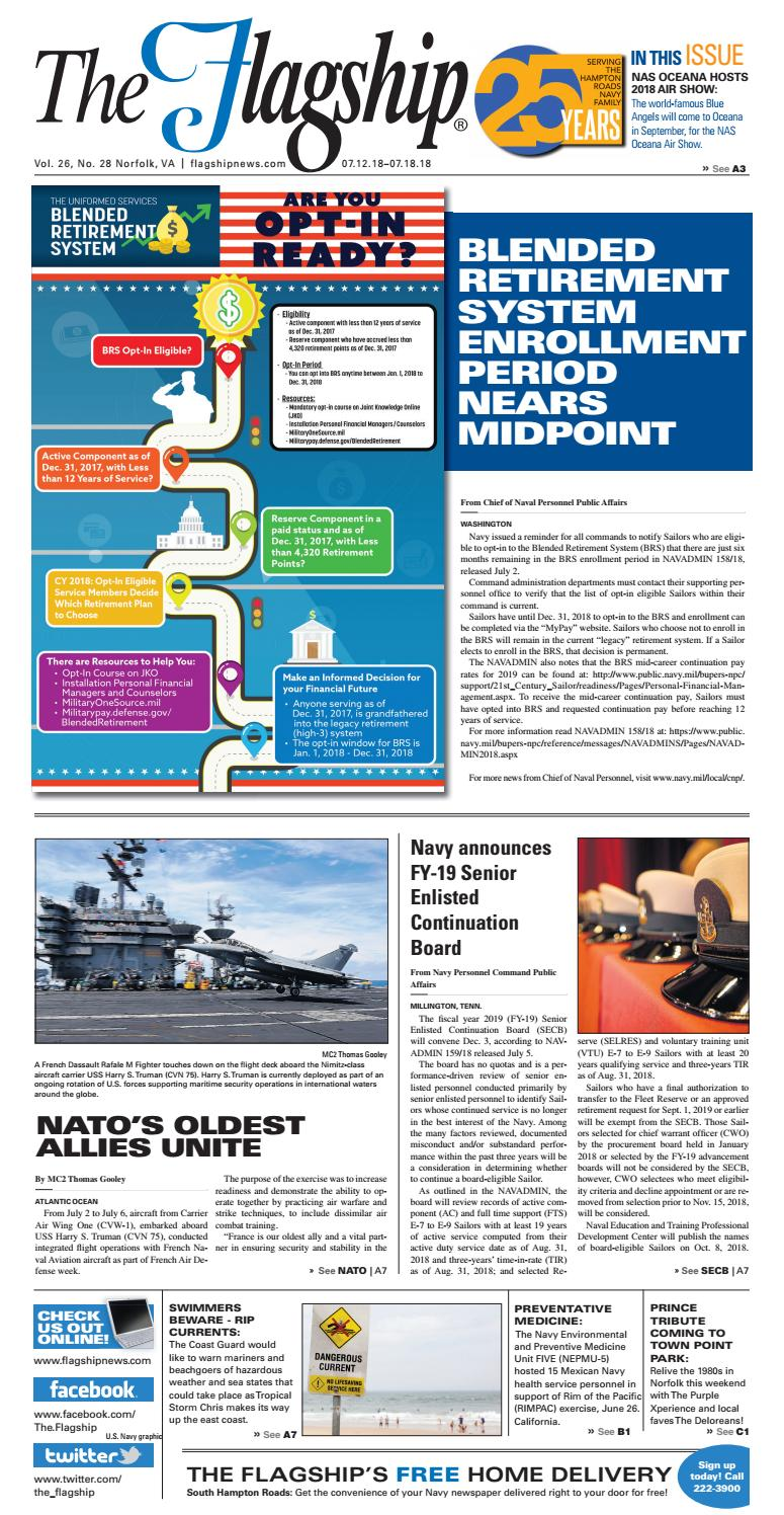 The Flagship Edition 07 12 18 by Military News - issuu