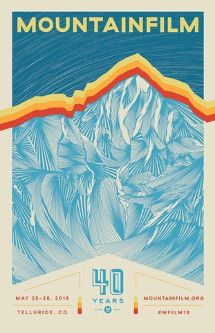 2018 Mountainfilm Festival Program By Mountainfilm Issuu