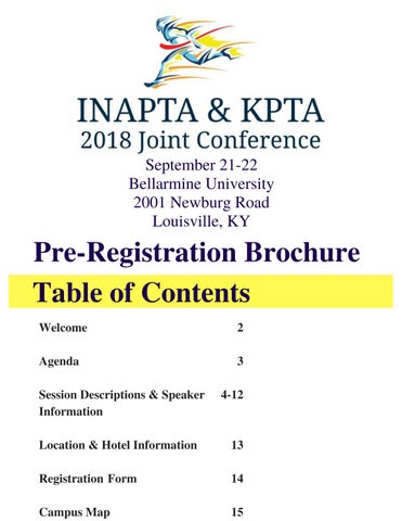 sports physical form kentucky  INAPTA & KPTA 13 Joint Conference by Kentucky Physical ...