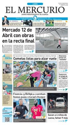 c6cc38eb3760a hemeroteca-09-07-2018 by Diario El Mercurio Cuenca - issuu