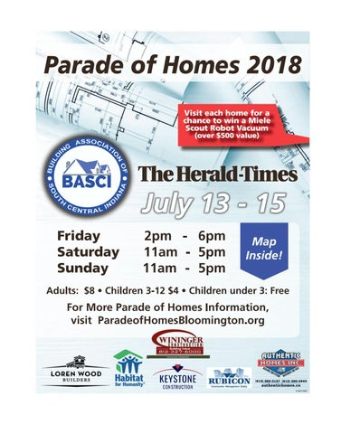 Herald-Times Parade of Homes 2018 by Hoosier Times Inc  - issuu