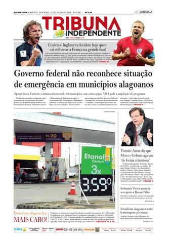 3f876716a7c Edição número 3183 - 11 de julho de 2018 by Tribuna Hoje - issuu