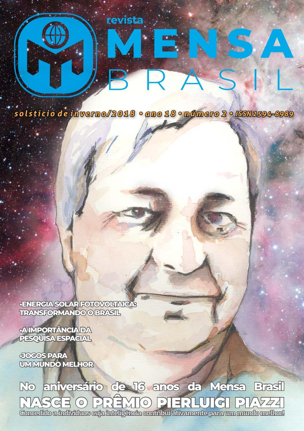 Revista mensa Brasil - edição Inverno 2018 by Associação Mensa Brasil -  issuu d49312a679