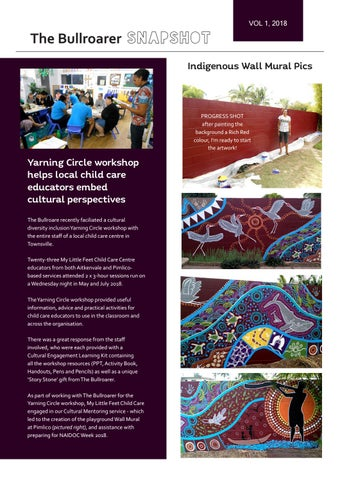 Page 2 of Yarning Circles for Staff