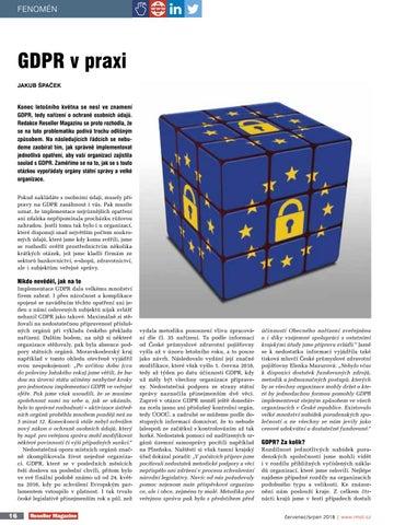 Page 18 of GDPR v praxi