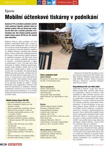 Page 28 of Mobilní úctenkové tiskárny v podnikání