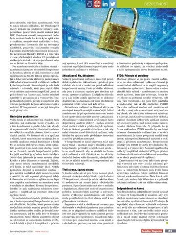 Page 41 of Slabá místa firemní IT bezpecnosti