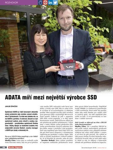 Page 52 of ADATA mírí mezi nejvetší výrobce SSD