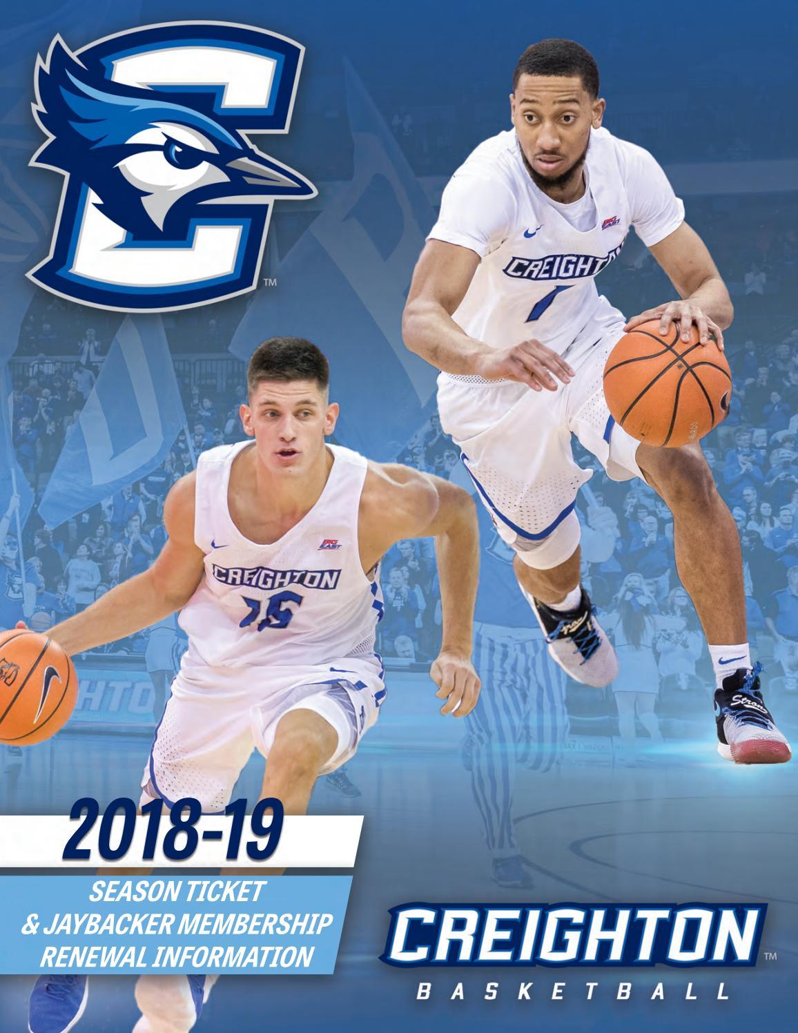 2018–19 Creighton Bluejays men's basketball team
