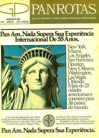Guia PANROTAS - Edição 113 - Agosto 1982 by PANROTAS Editora - issuu 72e01140aa6f2