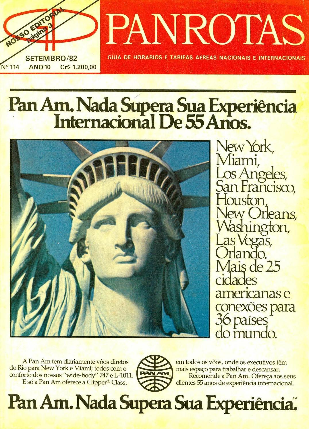 90373189f Guia PANROTAS - Edição 114 - Setembro 1982 by PANROTAS Editora - issuu