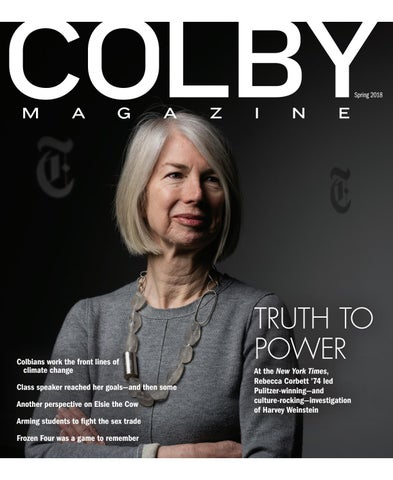 cheaper d1ab3 9a25d Colby Magazine vol.106, no. 2 by Colby College Libraries - issuu