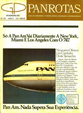 16d81a0b23 Guia PANROTAS - Edição 109 - Abril 1982 by PANROTAS Editora - issuu