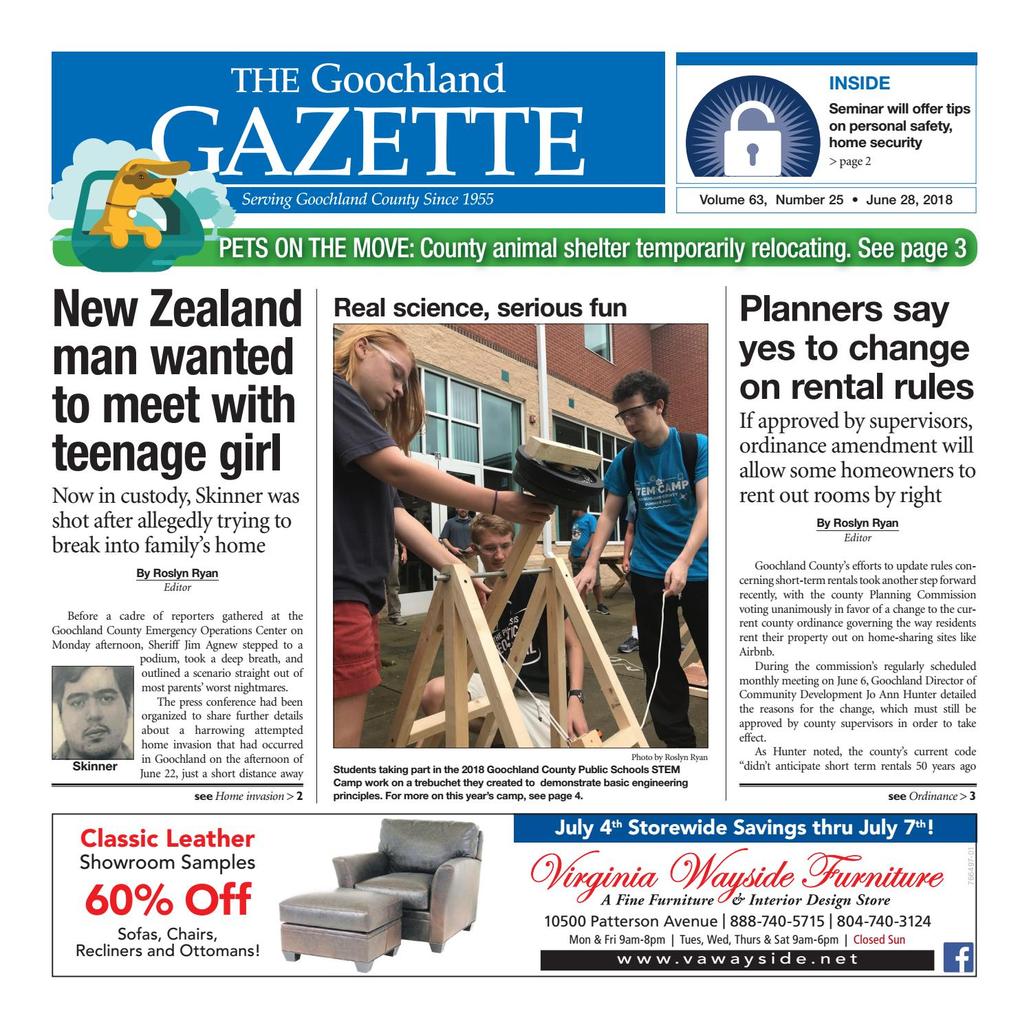 The Goochland Gazette 06 28 2018 By Goochland Gazette Issuu